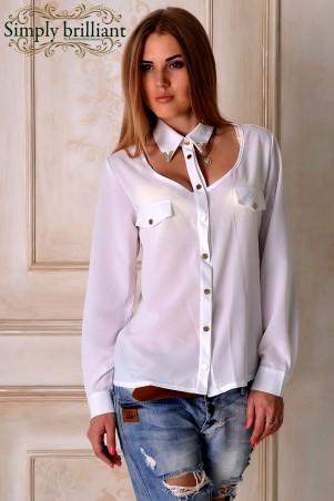 Simply brilliant: Блуза Тина - главное фото
