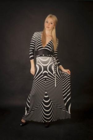 Me&Me: Платье в пол с открытой спиной 6028 - главное фото