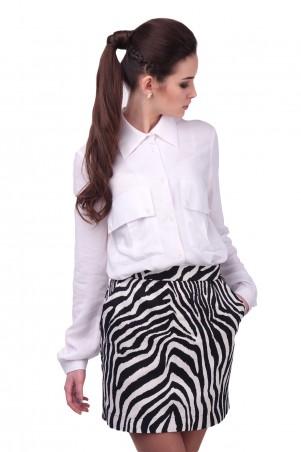 Lilo: Белая рубашка с карманами 416 - главное фото