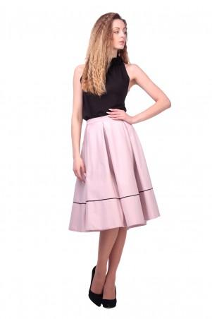Lilo: Светлая юбка миди, клеш 426 - главное фото
