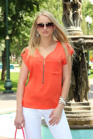 Tales: Блузка Блузка Tara_orange - главное фото