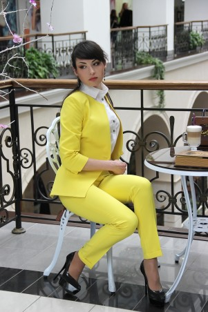 Tales: Костюм брючный Костюм женский брючный Corsar_yellow - главное фото