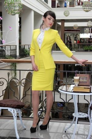 Tales: Костюм с юбкой Костюм женский с юбкой  Corsar_yellow - главное фото
