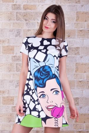 Glem: Платье Поп-арт  Тая-1 к/р - главное фото