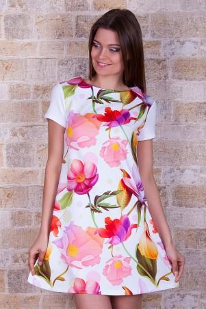 Glem: Платье Белые лилии  Тая-2 к/р - главное фото