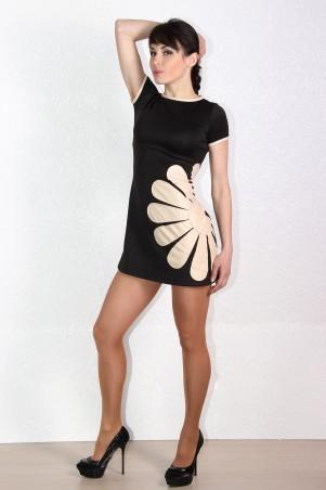 Tales: Платье трикотажное коктейльное Camomile_2 - главное фото