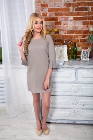"""InRed: Платье """"Anni"""" серое 7087 - главное фото"""