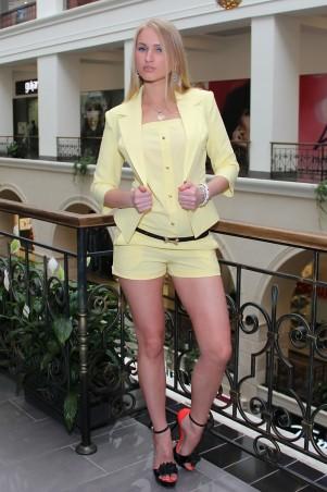 Tales: Комбинезон с шортами Комбинезон с шортами Topfree_2_yellow - главное фото