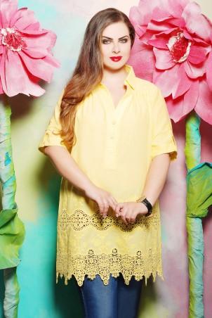 Tatiana: Блуза из батистового шитья Иванна - главное фото