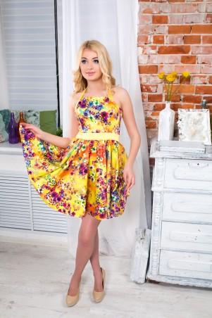"""InRed: Корсетное платье   """"Принцесса""""  желтое 7108.0 - главное фото"""