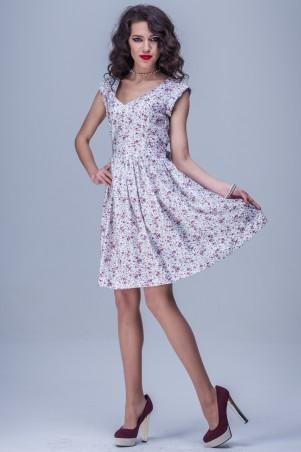 Jet: Платье ЛИЗА поплин Ситец белый 1119-4015 - главное фото
