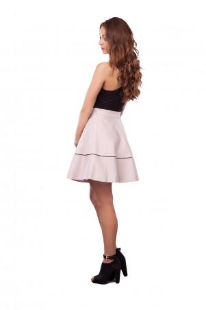 Lilo: Светлая короткая юбка с кантом 0502 - главное фото