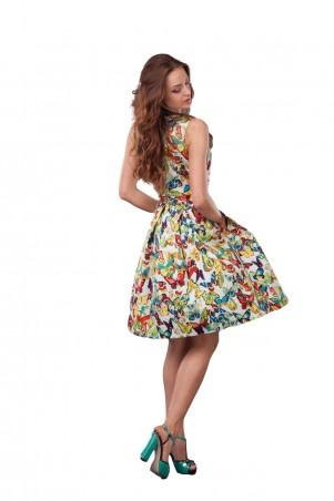 Lilo: Яркое платье в бабочки 0516 - главное фото