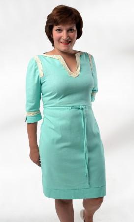 TessDress: Платье из натуральных волокон  «Таисия» 1098 - главное фото