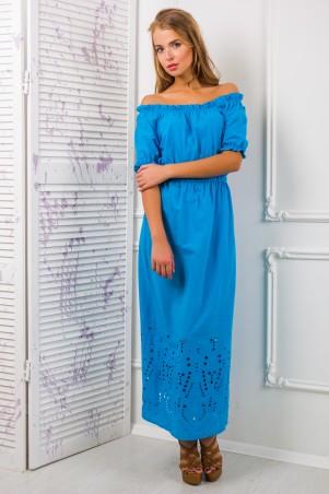 Zefir: Платье-сарафан из цветного шитья Алеся - главное фото