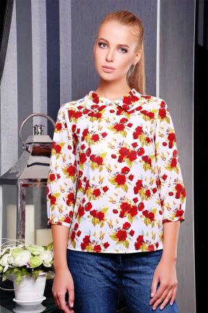 Glem: Блуза Роза красная  Тамила1 д/р - главное фото