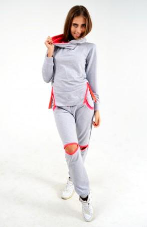 """TessDress: Женский спортивный костюм """"Лера"""" миланж2 4014 - главное фото"""