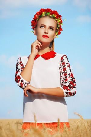 Glem: Блуза Червона Рута  Тамила3 д/р - главное фото