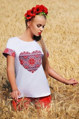 Glem: Блуза Сердце  Кимоно 2Н к/р - главное фото