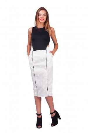 Lilo: Черно-белое платье трансформер 0554 - главное фото