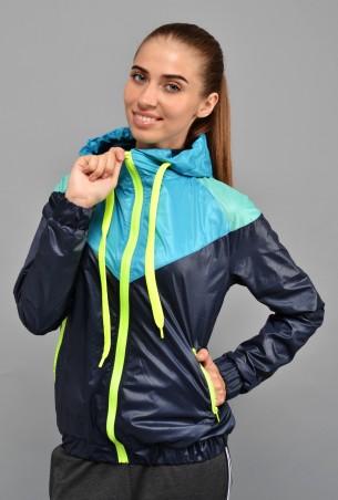 TessDress: Стильная женская куртка-ветровка 3015 - главное фото