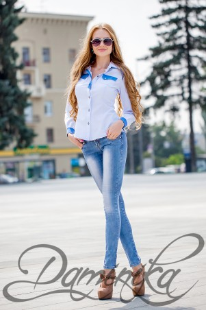 Daminika: Блуза «Лика» 21507 - главное фото
