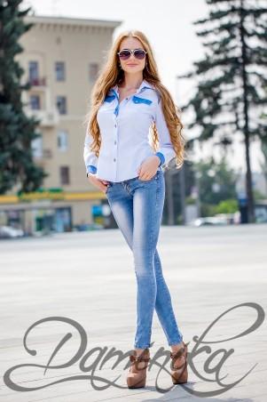 Daminika: Блузка «Лика» 21507 - главное фото