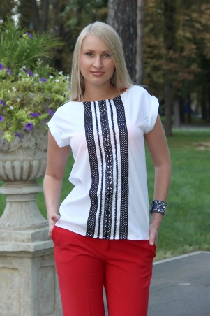 Tales: Блузка Блузка женская Etna_white - главное фото