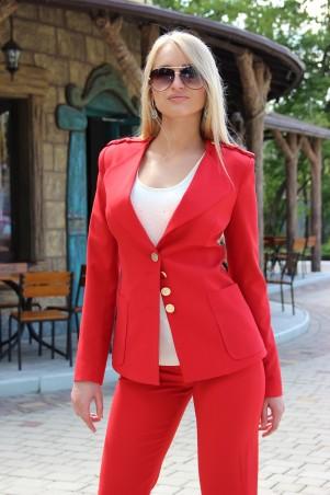 Tales: Костюм брючный Костюм женский брючный Sin_red - главное фото