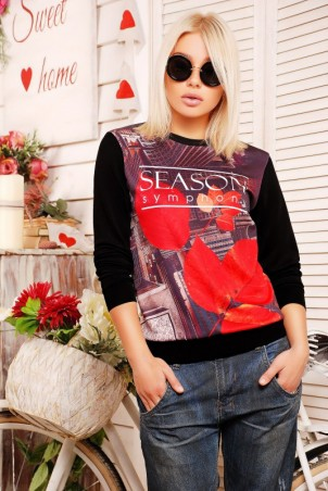 "FashionUp: Свитшот ""Sweatshirt"" KF-1207d - главное фото"