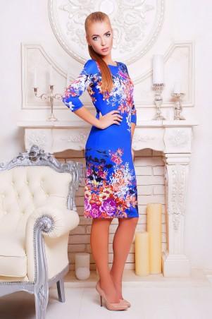 Glem: Платье Осенний букет  Лоя-1 д/р - главное фото