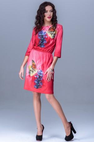 Jet: Платье НАТАЛИ Батерфляй алый 1060-2932 - главное фото