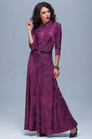 Jet: Платье Лейла жаккард сирень 1124.6-5086 - главное фото
