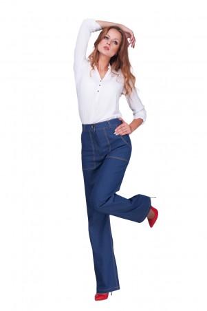 Lilo: Джинсовые брюки клеш с высокой посадкой 0601 - главное фото