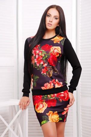 """FashionUp: Костюм""""Roses"""" KS-1211d1 - главное фото"""