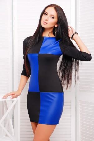 "FashionUp: Платье""Шахматы"" PL-1227A - главное фото"