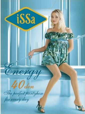 ISSA PLUS: Колготки Energy 40 den черного цвета Energy 40_черный - главное фото