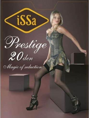 ISSA PLUS: Чулки Prestige 20 den цвета мокко Prestige 20_мокка - главное фото