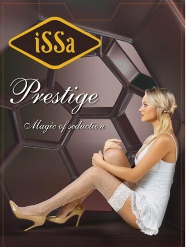 ISSA PLUS: Чулки Prestige черная сетка Prestige Сетка_черный - главное фото