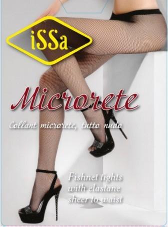 ISSA PLUS: Колготки Microrete черная сетка Microrete_черный - главное фото