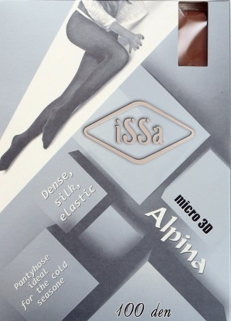 ISSA PLUS: Колготки Alpina 100 den цвета мокко Alpina 100_мокка - главное фото