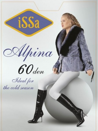 ISSA PLUS: Колготки Alpina 60 den цвета антрацит Alpina 60_антрацит - главное фото