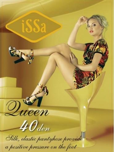 ISSA PLUS: Колготки Queen 40 den черного цвета Queen 40_черный - главное фото