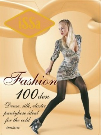 ISSA PLUS: Колготки Fashion 100 den телесного цвета Fashion 100_телесный - главное фото
