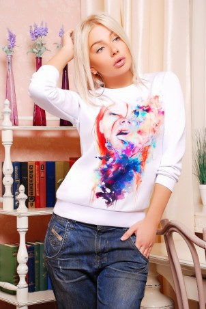 "FashionUp: Свитшот ""Sweatshirt"" KF-1242d - главное фото"