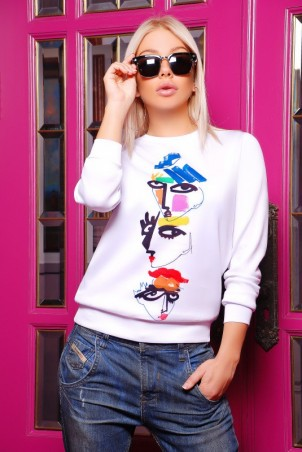 "FashionUp: Свитшот ""Sweatshirt"" KF-1246d - главное фото"
