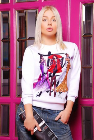 "FashionUp: Свитшот ""Sweatshirt"" KF-1247d - главное фото"