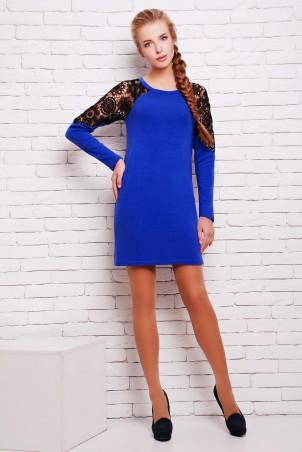 Zefir: Платье из ангоры с кружевом Вега - главное фото