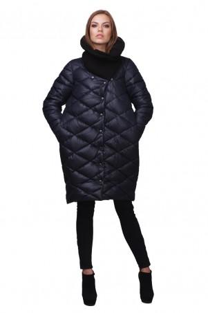Lilo: Синяя куртка пуховик 01730 - главное фото