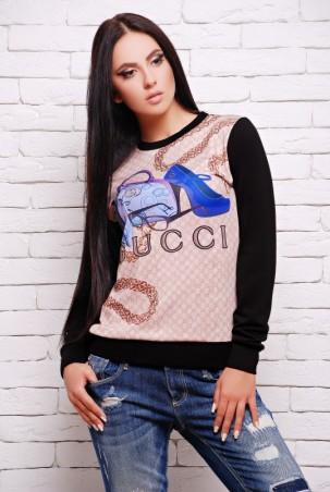 "FashionUp: Свитшот ""Sweatshirt"" KF-1271fl - главное фото"